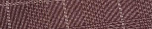 【Hf_9s21】ダスティーレッド6.5×4.5cmグレンチェック+白チェック