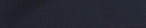 【Hf_9s22】ネイビー+6.5×4.5cm赤ウィンドウペーン