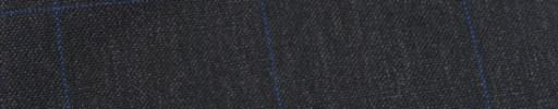 【Hf_9s24】チャコールグレー+6.5×4.5cmブルーウィンドウペーン