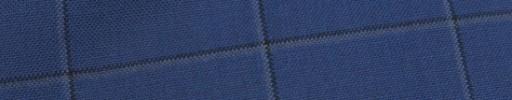 【Hf_9s42】ロイヤルブルー+5.5×4.5cmグレー・黒ウィンドウペーン
