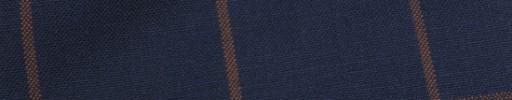 【Hf_9s58】ネイビー+5.5×4.5cm赤ウィンドウペーン