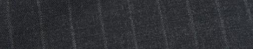 【Hf_9s76】チャコールグレー+1.5cm巾ストライプ