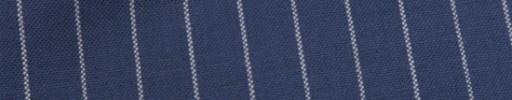 【Hf_9s78】ロイヤルブルー+1.5cm巾白ストライプ