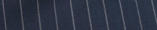 【Hf_9s79】ブルーグレー+1.5cm巾白ストライプ