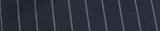 【Hf_9s80】ネイビー+1.5cm巾白ストライプ