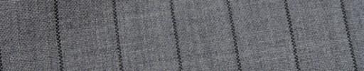 【Hf_9s83】ライトグレー+2cm巾グレーストライプ