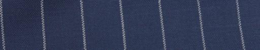 【Hf_9s84】ロイヤルブルー+2cm巾白ストライプ