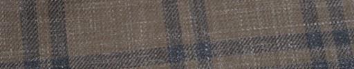 【Hr_in9s05】ブラウン+6×5cmブルーグレーチェック