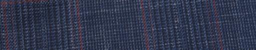 【Hr_in9s25】ネイビー・黒8×6.5cmグレンチェック+赤プレイド