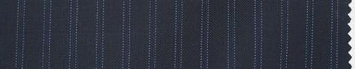 【Lo_5s004】濃紺地+7ミリ巾ブルーWドットストライプ