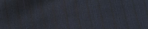 【Mic_9s042】ダークブルーグレー柄+1cm巾織り・ブルー交互ストライプ
