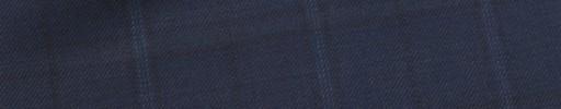 【Mic_9s044】ネイビー+ブルー・黒5.5×4cmプレイド
