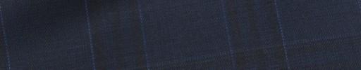 【Mic_9s080】ネイビー・ブラック・ライトブルー5.5×4.8cmタータン