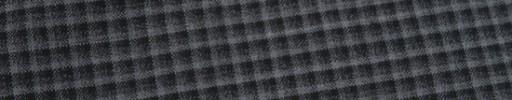 【Myj_9s05】グレー・ブラック5ミリチェック
