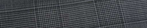 【Myj_9s09】グレー6×5cmグレンチェック