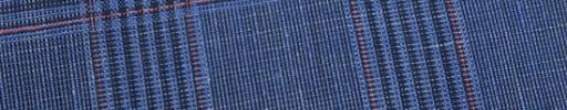 【Myj_9s26】ライトブルーファンシーチェック+6.5×6cm赤プレイド