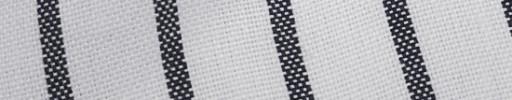 【Myj_9s43】ホワイト+2.8cm巾グレーストライプ