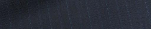 【Bh_9s08】ネイビー+1.4cm巾ブルードット・織り交互ストライプ