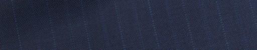 【Bh_9s09】ライトネイビー+1.4cm巾ブルードット・織り交互ストライプ