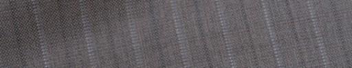 【Bh_9s10】グレージュ+1.4cm巾白ドット・織り交互ストライプ