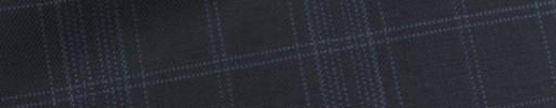 【Bh_9s19】ネイビー5.5×4.5cmブルーチェック+プレイド