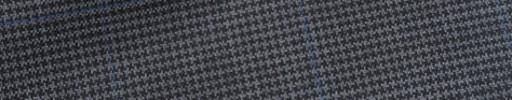 【Bh_9s24】グレーハウンドトゥース+5.5×4cmブルーチェック