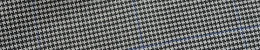 【Bh_9s25】白黒ハウンドトゥース+5.5×4cmブルーチェック