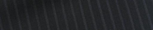 【Bh_9s33】ブラック6ミリ巾織りストライプ