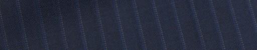 【Bh_9s35】ライトネイビー8ミリ巾織り・パープルストライプ