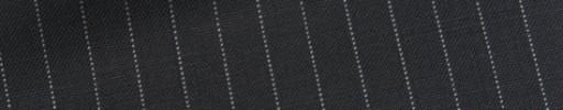 【Bh_9s39】ダークネイビー+8ミリ巾白ストライプ