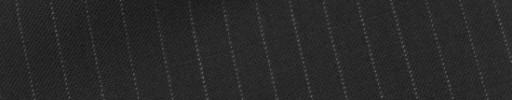 【Bs_9s008】ブラック+6ミリ巾白ストライプ