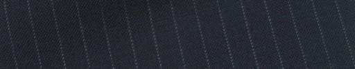 【Bs_9s009】ネイビー+6ミリ巾白ストライプ