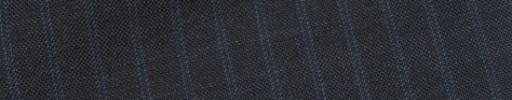 【Bs_9s013】チャコールグレー+8ミリ巾ブルーWドットストライプ