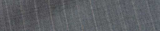 【Bs_9s020】ライトグレー+1.5cm巾白・ベージュ交互ストライプ