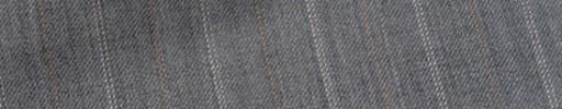【Bs_9s022】ライトグレー+1.7cm巾ブラウン・白ダブル交互ストライプ