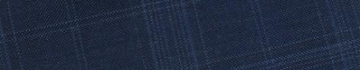 【Bs_9s034】ダスティーブルー4.5×4cmチェック+オーバープレイド