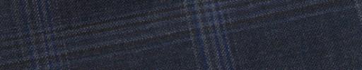 【Bs_9s035】ブルーグレー+5×4cmブルー・ホワイトミックスチェック