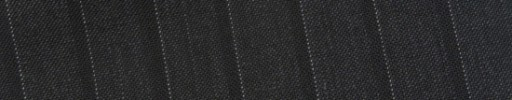 【Bs_9s042】チャコールグレー+1.3cm巾織り・白ドットストライプ