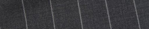 【Bs_9s043】ミディアムグレー+1.7cm巾ストライプ