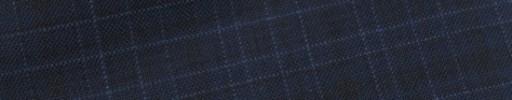 【Bs_9s078】ネイビー+2.5×2.3cm白ドット・黒ミックスチェック