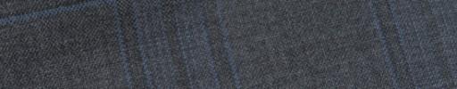 【Bs_9s081】ミディアムグレー+6×5cmファンシーチェック