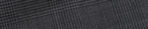 【Bs_9s090】チャコールグレー5×3.5cmグレンチェック