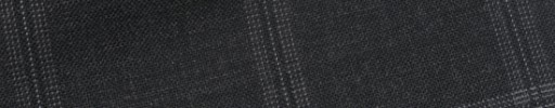 【Bs_9s092】チャコールグレー+4.5×3.8cm薄赤・白オルターネートチェック