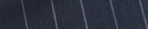 【Bs_9s094】ブルーグレー+1.7cm巾ストライプ