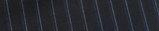 【Bs_9s096】ダークネイビー+8ミリ巾ライトブルー・織りストライプ
