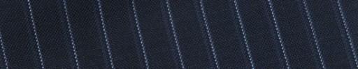 【Bs_9s097】ネイビー+8ミリ巾ライトブルー・織りストライプ