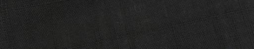 【E_9s205】ブラック+5×4cm織りプレイド