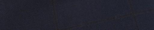 【E_9s207】ネイビー+5.5×4.5cm赤黒ウィンドウペーン