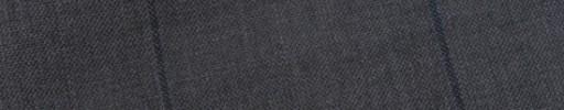 【E_9s208】ミディアムグレー+5.5×4.5cmブルー黒ウィンドウペーン