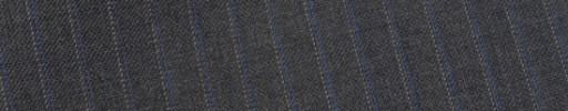 【E_9s214】ミディアムグレー+6ミリ巾ブルー・パープルストライプ